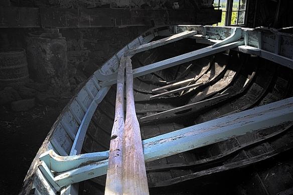 Grimsay boat